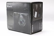 NEW Sony Cyber-Shot DSC-RX100 Digital Camera Kit 20.2 MP Black