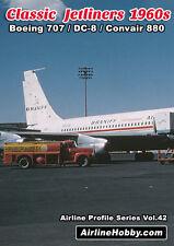 Classic Jetliners 1960s Boeing 707 Douglas DC-8 Convair 880 DVD