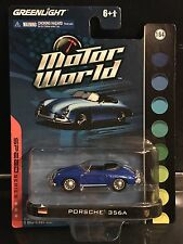 Greenlight Motor World Porsche 356A 1/64 Scale krg0212