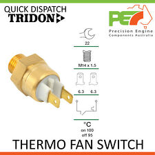 New Genuine * TRIDON * Thermo Fan Switch TFS For Holden Camira JB,JD,JE