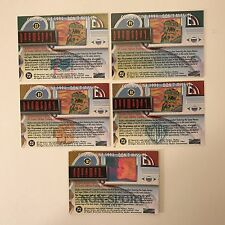 PROMO CARDS: DC MASTER SERIES 1994 Skybox: 5 DIFFERENT: C1, D1, H1, P1 & N1