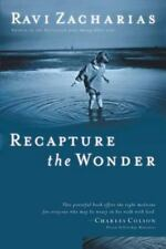 RECAPTURE THE WONDER  by Ravi Zacharias 2003 NEW Paperback