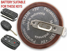 NEW LANDROVER DISCOVERY 3 RANGE ROVER FREELANDER 2 KEY FOB LI-ION VL2330 BATTERY