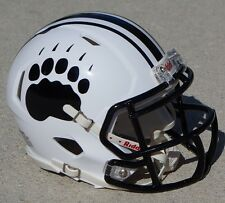 BOWDOIN COLLEGE POLAR BEARS MINI SPEED FOOTBALL HELMET