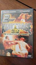King of the cage the evolution of combat 2 dvd set  ships next day