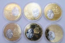 Great Pacific Explorers 2009 Fiji Rodium/Au plt 6 pcs