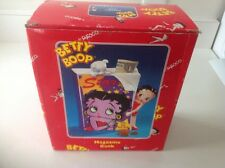 Enesco United King 2000 Betty Boop With Pudgy Magazine Bank MIB #A1414