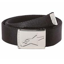 Alpinestars Friction Web Belt - Black / Chrome