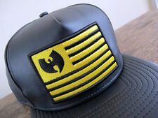 WUTANG x NEW ERA 9FIFTY A-Frame Faux Leather Snapback Cap _ clan supreme wu wear