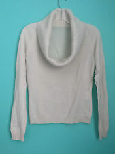 Valentino 100% Cashmere Ladies Cream Sweater Made in Italy