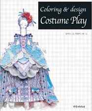 Costume Play Design Coloring Book For Adults Fun Alice in Wonderland Tinkerbell