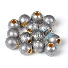 Lot 10 Saltwater Fishing Lead Weights Egg Sinkers Round Cannon Ball 4/5oz
