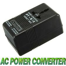 100W Power Converter Adapter AC 110V/120V to 220V/240V Dual Voltage Transformer