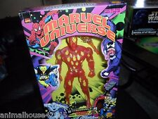 "Marvel Universe 10 Inch ACTION FIGURE 10"" Human Torch Toy Biz 2000"