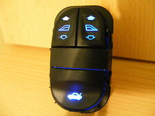Ford Escort Mk6/7 Windows/Boot Switch Converted Blue LEDs