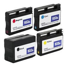 4PK 932 XL 933 XL Ink Cartridge for HP Officejet 6100 7100 Wide Format