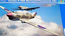 Trumpeter - Curtiss P-40 B Warhawk Tomahawk IIA Modell-Bausatz 1:48 Fighter kit