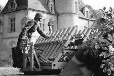 WW2 - Lance-roquettes allemand 16 tubes de 8.14 sur châssis de char Somua Mai 44
