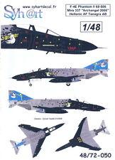 Syhart Decals 1/48 F-4E PHANTOM II Archangel 2005 Greek Air Force
