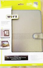 "Werx Universal Tablet eReader Case Stand Silver for Display up to 10.1"" (GWA 10)"