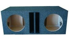 10 Inch Dual Vented Sub Woofer Box Enclosure Ported Labyrinth Made By Obcon