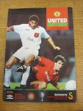 20/10/1993 Manchester United v Galatasaray [Champions League] (Light Crease, Tea