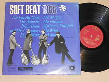 SOFT BEAT 1966 Compil. LP - Decca Ger Animals Brian Poole Who Vogues