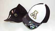 NWT NEW HAT CAP S/M STRETCH UP TO 7 1/4 Appalachian State Mountaineers TOW WHITE