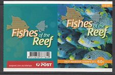 Australia 2010 Fishes of the Reef Phil Booklet ($12) - B454