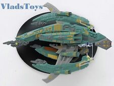 Eaglemoss Diecast Star Trek Breen Confederacy Warship #69, w/Collector Magazine