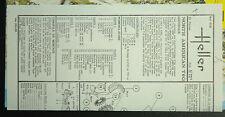 1/72ème PLAN DE MONTAGE POUR NORTH AMERICAN T6G pour maquette HELLER réf 079