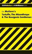 Cliffs Notes: Tartuffe, the Misanthrope and the Bourgeois Gentleman 0 by...