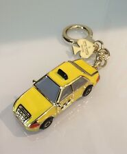 "KATE SPADE NEW YORK ""TAXI"" YELLOW MULTI-COLOR FOB KEY RING/CHAIN, NWT"