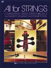 """""""ALL FOR STRINGS"""" BOOK 2 CELLO BRAND NEW MUSIC BOOK ELEMENTARY METHOD ON SALE!!"""