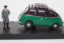 1/43 Giocher GR11 Fiat 600D Multipla Taxi Rome w/ figure