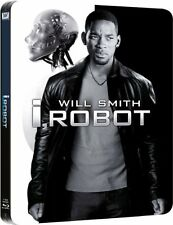 I, Robot Limited Edition Steelbook Blu-ray Box Set Will Smith Brand NEW