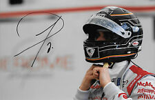 Jerome d' Ambrosio SIGNED  Formula E  Dragon Racing Portrait  2014