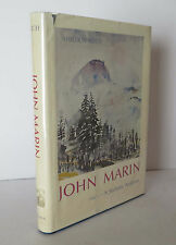 John Marin: A Stylistic Analysis 1970 Reich Art Painting History - Part 1 only
