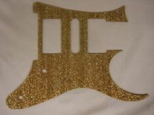 Front route Gold Glitter Guitar Pickguard fits RG550 Jem  RG  HSH