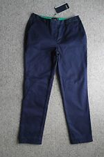 Fred Perry Cropped Women Chino Carbon Blue Size UK 12