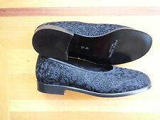 New Cole Haan Black Embroidered  Flats  6M