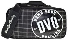 DV8 2 Ball Deluxe Shoulder Tote Bowling Bag with shoe pocket
