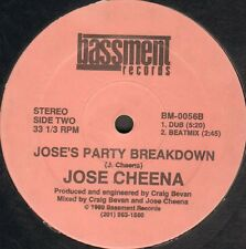 Jose Cheena - Jose's Party Breakdown - 1989 - Bassment - BM-0056 - Usa