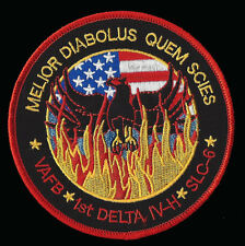 USAF BLACK OPS PHOENIX MISSION AREA 51 NRO L-49 DELTA IV-H SPACE PATCH