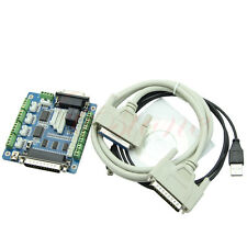 Motor + USB DB25 Cable 5 Axis CNC Breakout Board Interface Adapter For Stepper