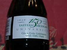 Eastern Michigan Univ. 150 Years Coca-Cola Coke Bottle