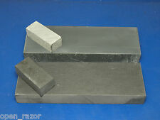 set of 2 razor natural sharpening stones, MST 8000 grit + Chinese 12000 grit