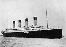 RMS Titanic * 13 x 19  High Quality B&W Print *