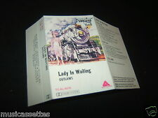 OUTLAWS LADY IN WAITING AUSTRALIAN Unused Inlay Card Only