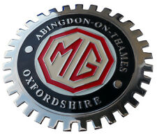MG Abingdon on Thames  car grille badge MGB MGA T-Series etc